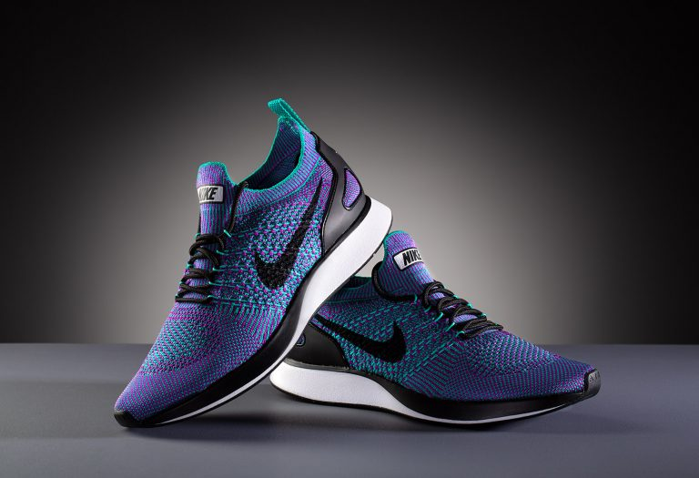 Purple Nike trainers